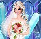 Elsa noiva vestir