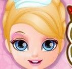 Bebê Barbie fazer bolo