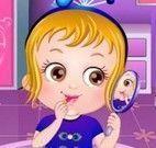 Bebê Hazel competição de fantasia