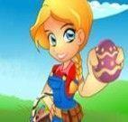Pegar ovos de Páscoa