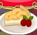Fazer torta de pêssego