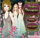 Maquiar as três princesas