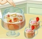 Preparar ponche de frutas da Sara