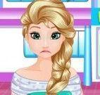 Elsa Frozen cirurgia do estômago