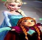 Encontrar objetos cenário da Frozen
