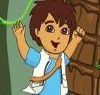 Diego aventuras na floresta