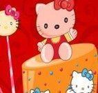 Hello kitty bolo decoração