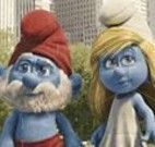 Quebra cabeça do Smurfs