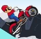 Mario de Moto na Neve