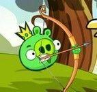 Arco e flecha porcos verdes