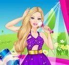 Barbie cantora moda