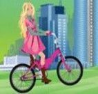 Barbie na bicicleta