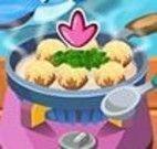 Preparar almondegas com macarrão