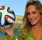 Cláudia Leite jogo da memória Copa do Mundo