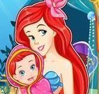 Parto da princesa Ariel