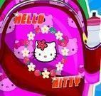 Decorar mochila Hello kitty