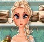 Elsa receita de torta de maçã
