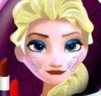 Elsa roupas e maquiagem