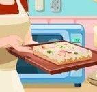 Receita de pizza com massa de pão