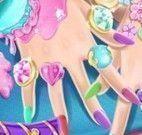 Barbie spa das mãos