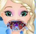 Elsa garganta inflamada