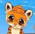 Cuidar do filhote de tigre