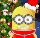 Decorar árvore de Natal do Minion