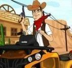 Corrida de carros dos cowboys