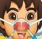 Diego médico de nariz