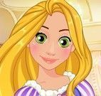Rapunzel pintar unhas