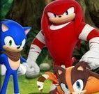 Erros da turma Sonic