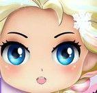 Pequena Elsa maquiagem