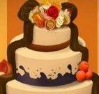 Bolo de casamento decoração