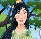 Vestir princesa Mulan
