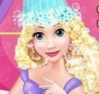 Rapunzel na banheira