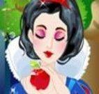 Pegar frutas com a Branca de Neve