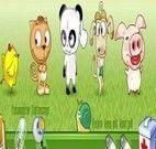 Medicar os animais da fazenda