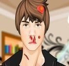 Justin Bieber no médico