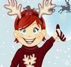 Vestir menina no Natal