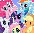 Jogo dos erros da turma My Little Pony