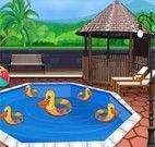 Decorar piscina do clube