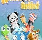 Animais pintores