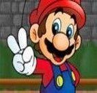 Atirar do arco e flecha do Mario
