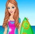 Moda de menina surfista