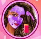 Maquiagem da famosa Selena Gomez