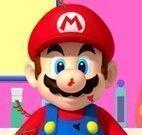 Super Mario no banho