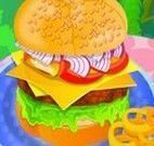 Decorar cheeseburguer