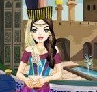 Roupas da princesa  da Arábia