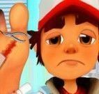 Cuidar do pé do Subway Surfers