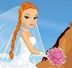 Vestir noiva no cavalo